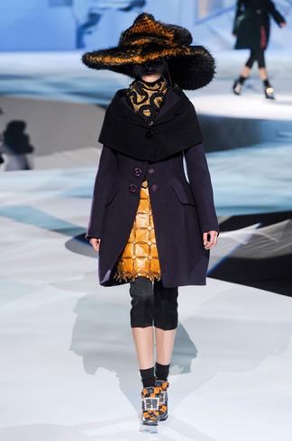 Défilé Automne hiver 2012/2011 Louis Vuitton - Marc Jacobs